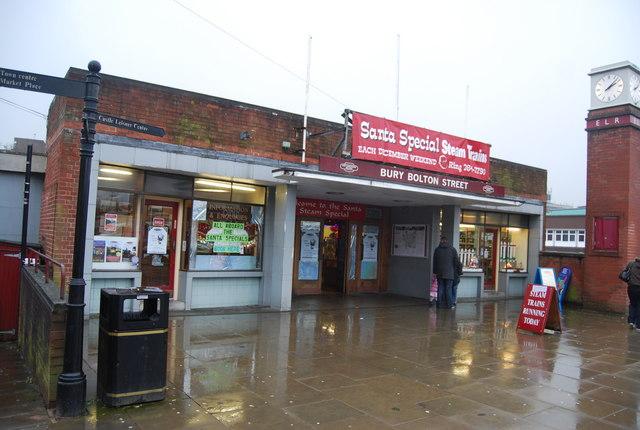 Bury Bolton Street station.