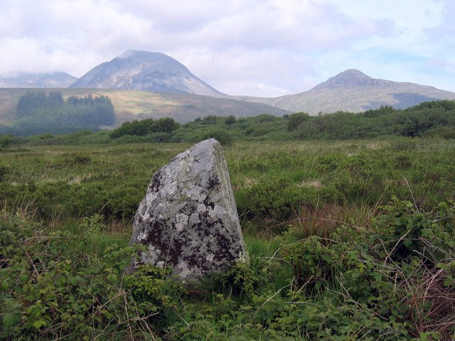 Western Standing Stone at Knockrome