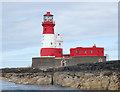 NU2438 : Longstone lighthouse, Farne Islands by Andy F