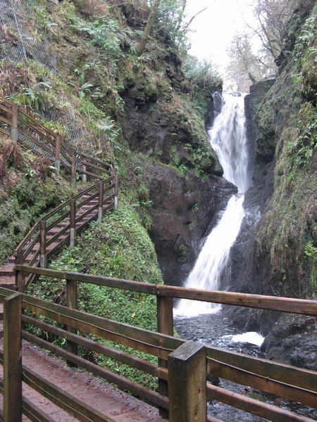 Waterfall in Glenariff