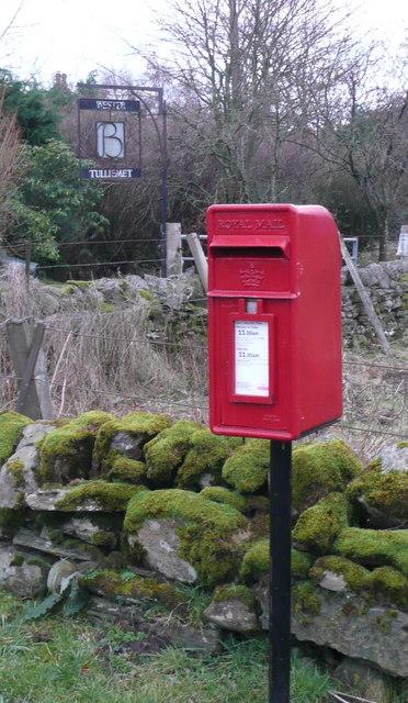 Postbox at Wester Tulliemet