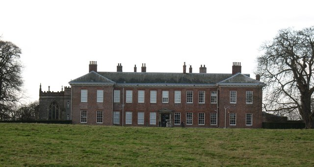 Ribston Hall, north east front