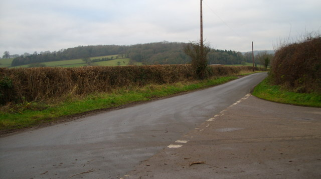 Road junction at Boseley Court.