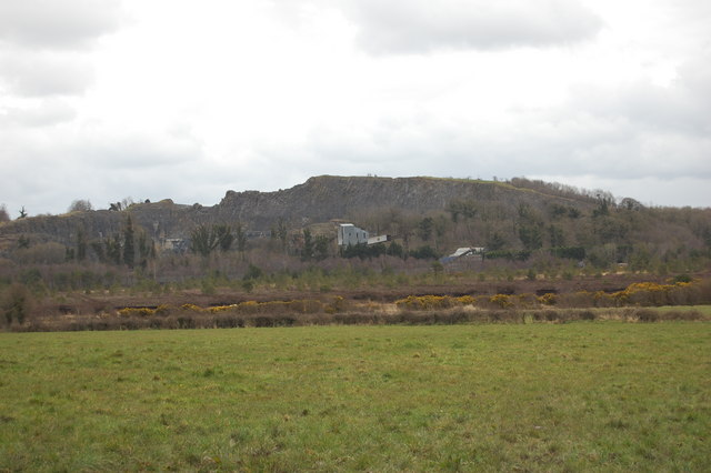 Quarry at Lisduff looking from The Derries