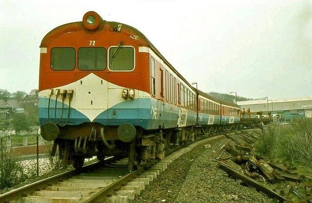Permanent way train, Larne