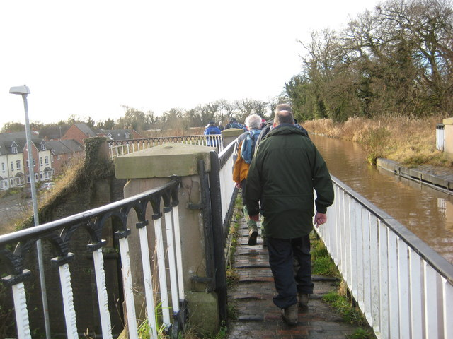 Walkers on the Aqueduct