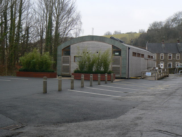 Eco building in Cwmbran
