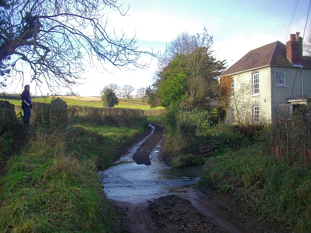 The ford at the Pepper Mill