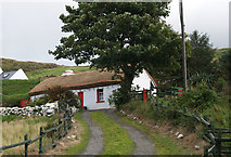 G7288 : Thatched cottage Common, Ardara. by Bart Whelan