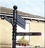 SK0394 : Pedestrian Signpost by Gerald England