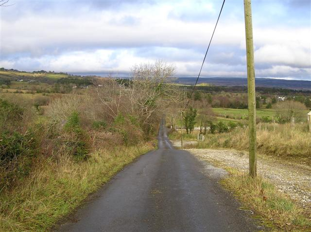 Road at Kiltycloghan