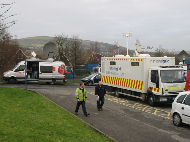 National Grid Mobile Command Unit