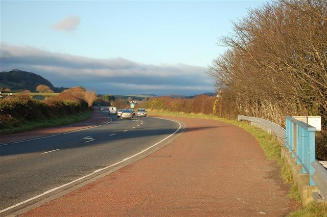 The road to Newcastle