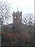 SJ9400 : St Thomas's Church,  Christmas Day 2008 by John M