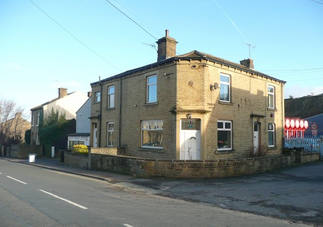 Former post office, Rastrick Common, Rastrick