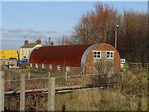 TA0623 : Barrow Haven - Boatyard Building by David Wright