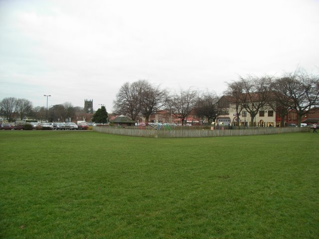 The Applegarth Play area
