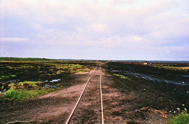 Bog railway at Lumcloon, Co. Offaly