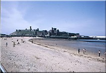 SC2484 : Peel Castle from the promenade by Peter Whatley