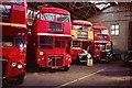 TQ1774 : Twickenham Bus Garage by Clive Warneford