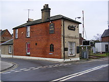 TM3863 : The Railway Public House by Adrian Cable