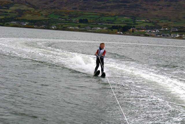 Waterskiing at Warrenpoint