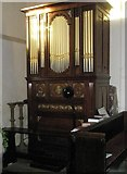 SU8014 : The organ at St Peter, East Marden by Basher Eyre