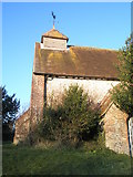 """SU8014 : Modest but splendid """"spire"""" of St Peter, East Marden by Basher Eyre"""