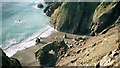 SC3773 : Looking down from Marine Drive, Isle of Man by Andy Evans