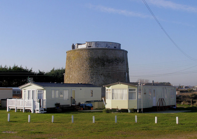 Martello Tower 62 (The Grey Tower) Pevensey Bay
