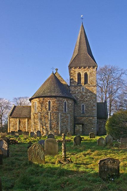 St Nicholas' Church, Worth - east end