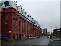 NS5564 : Edmiston Drive stand, Ibrox Stadium by Stephen Sweeney