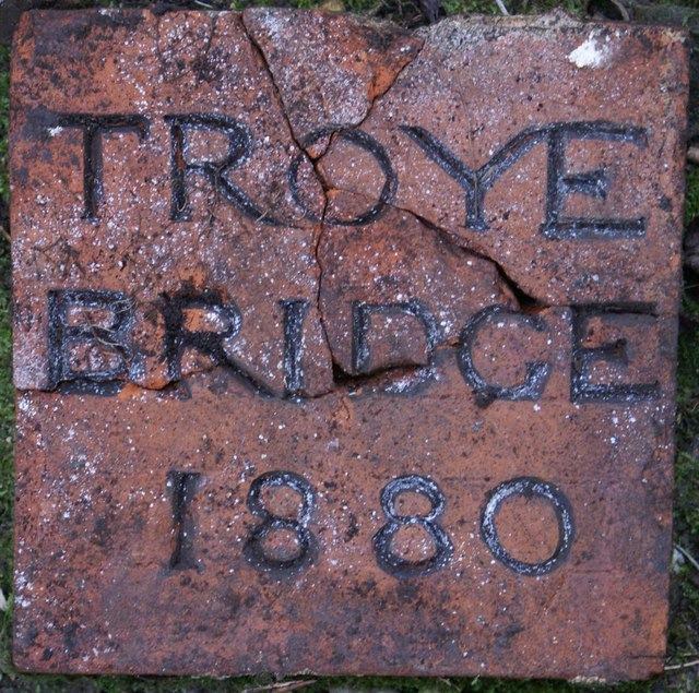 Troye Bridge Name Plaque