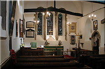 TQ0682 : St Laurence, Cowley - East end by John Salmon