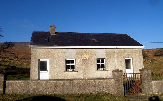 Largynaseeragh Primary school Glencolmcille.