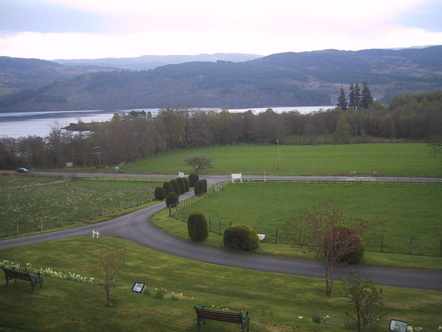 View from Inchnacardoch Lodge Hotel