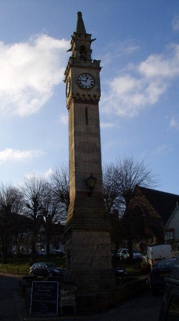 Clock Tower Newnham