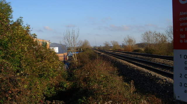 Railway line to Gloucester