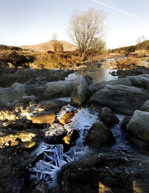 White Laggan Burn, Loch Dee