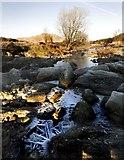 NX4677 : White Laggan Burn, Loch Dee by Duncan McNaught