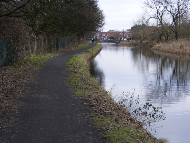 The Birmingham Canal near Burnt Tree