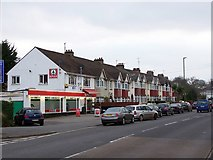 SX8760 : Corner shop and housing, King's Ash Road by Richard Dorrell