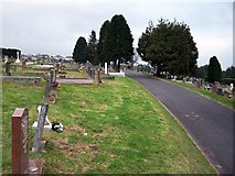 SX8760 : Paignton cemetery by Richard Dorrell