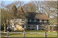 TQ4450 : Oast House at Hoppers, Crockham Grange, Crockham Hill, Kent by Oast House Archive