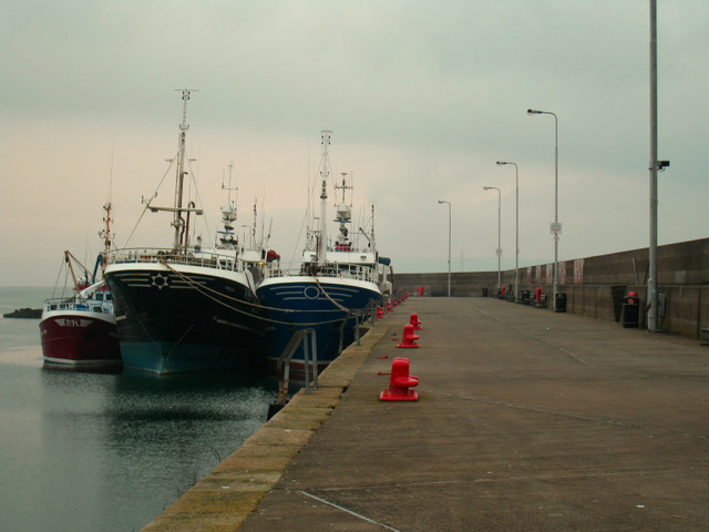 Eisenhower Pier, Bangor (Christmas Day 2008)