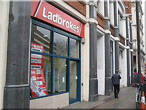 TQ3282 : Ladbrokes, City Road , EC1 by Mike Quinn