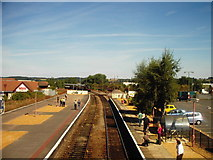 SP1955 : Special Train arriving at Stratford-Upon-Avon Railway station by James Haynes