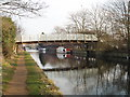 TQ1379 : Grand Union Canal bridge 203a to 3 Bridges Primary School by David Hawgood