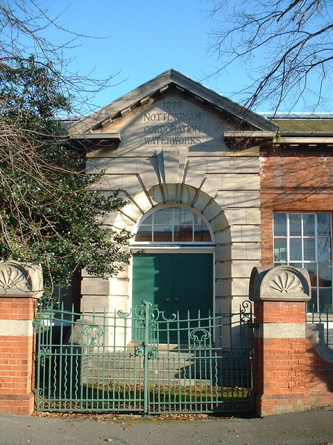 The water pumping station