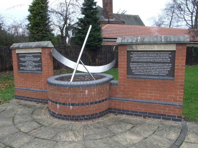 The Millennium Sundial